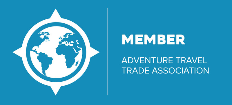 MEMBER of the ATTA, Adventure Travel Trade Association